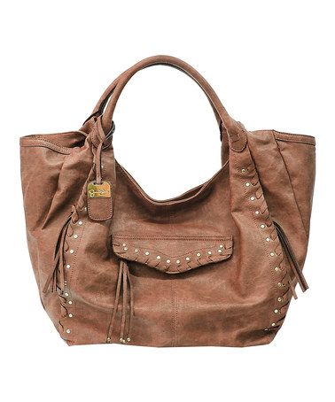 Another great find on #zulily! Luggage Bohemia Rap Tote by Jessica Simpson Collection #zulilyfinds