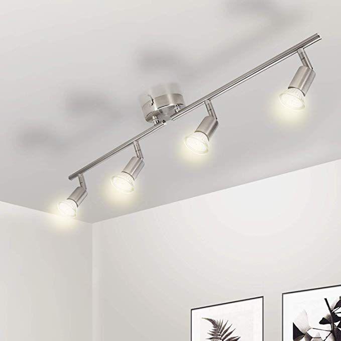 LED Deckenleuchte Küche, Wowatt 4 flammig Deckenstrahler LED ...