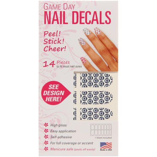 Butler Bulldogs Game Day Nails - $4.99