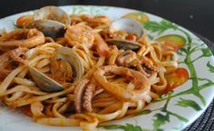 Невыразимая легкость кулинарного бытия...: Паста с морепродуктами
