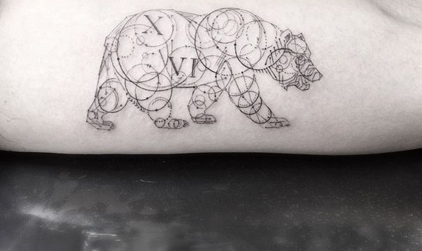 Geometric Tattoos By Dr. Woo Who's Been Experimenting With Ink Since He Was 13 | Bored Panda