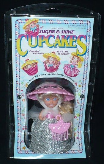 These smelled so damn good! and this is what I thought of when I bought jade all those little miss muffin dolls