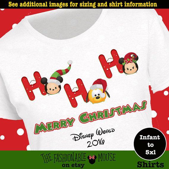Christmas Tsum Tsum Tee Mickey Christmas by TheFashionableMouse