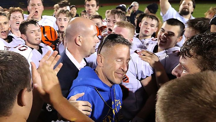 Coach Joe Kennedy has been booted from the locker room at Bremerton High School in Washington State.