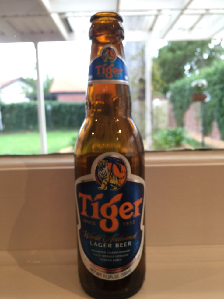 Tiger Lager Beer 5% (Asia)