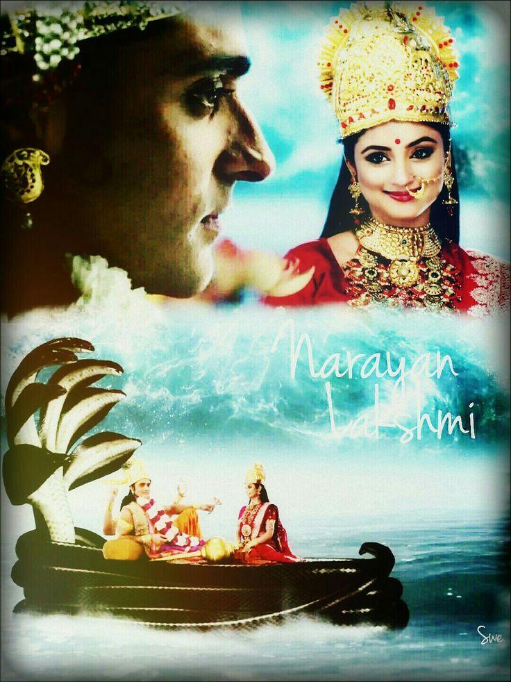 Narayan and lakshmi !!!