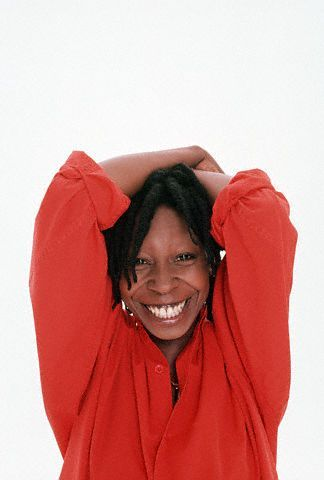 whoopi Goldberg and her light up your heart smile!