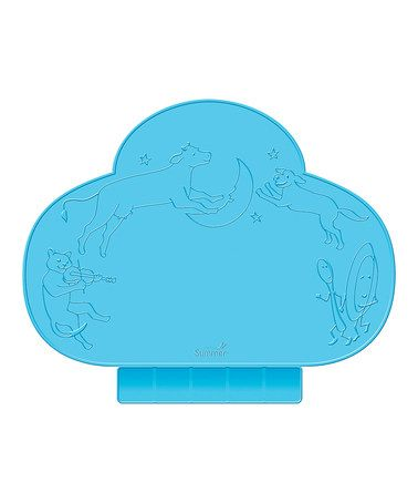 Look what I found on #zulily! Blue Tiny Diner Portable Place Mat #zulilyfinds
