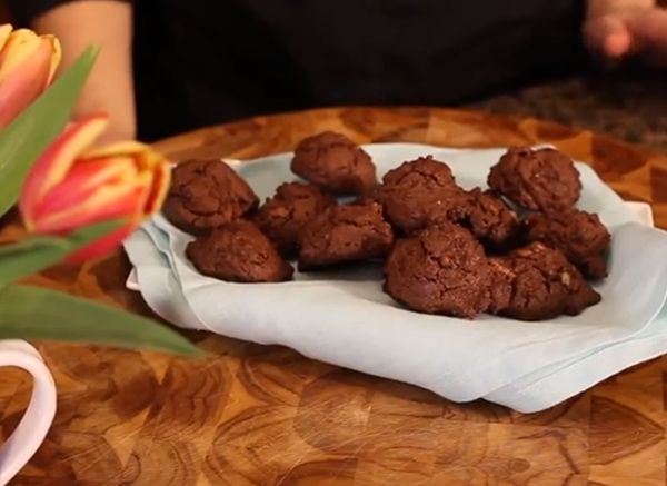 Chocolate Pecan Olive Oil Cookie Recipe With Christine Cushing