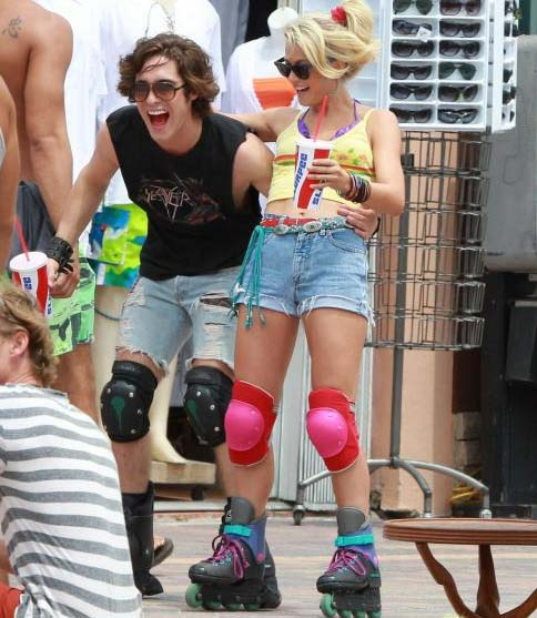 love that 80s fashion rock of ages what fab funwould