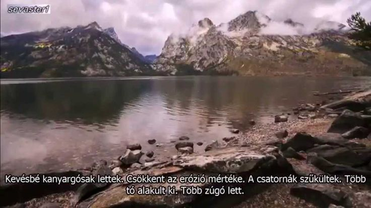 Hogyan változtatták meg a farkasok a folyókat
