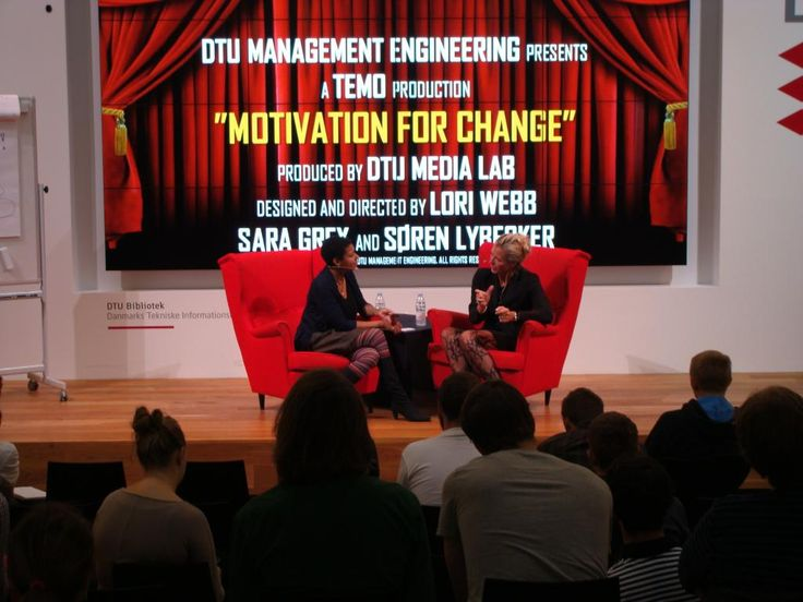 """Today's TEMO (Technology, Economics, Management & Organization) Talk Show, """"Motivation for Change"""" with Henriette Divert Hendricks of Implement Consulting Group."""