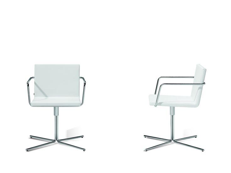 Jetzt bei Desigano.com ALN Stuhl mit Vierfußausleger Sitzmöbel, Stühle, Sessel, Konferenzstühle von INCLASS design ab Euro 396,00 € Der ALN - ein Stuhl der mit Drehfuß oder stapelbarem Vierfußgestell überzeugt. Die geraden klaren Linien definieren die Ästhetik dieses vielseitigen Stuhls, der für den Einsatz in Konferenzräumen, Büros , Restaurants und sogar im Home-Bereich entworfen wurde. Zusätzlich ist auf Wunsch die Polsterung abgesteppt erhältlich, dadurch wird der Stuhl zu einem echten…