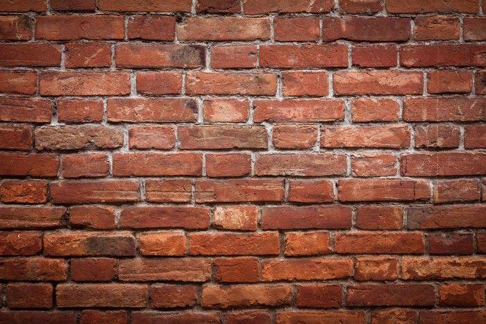 Carta da Parati Vecchio grunge texture muro di mattoni