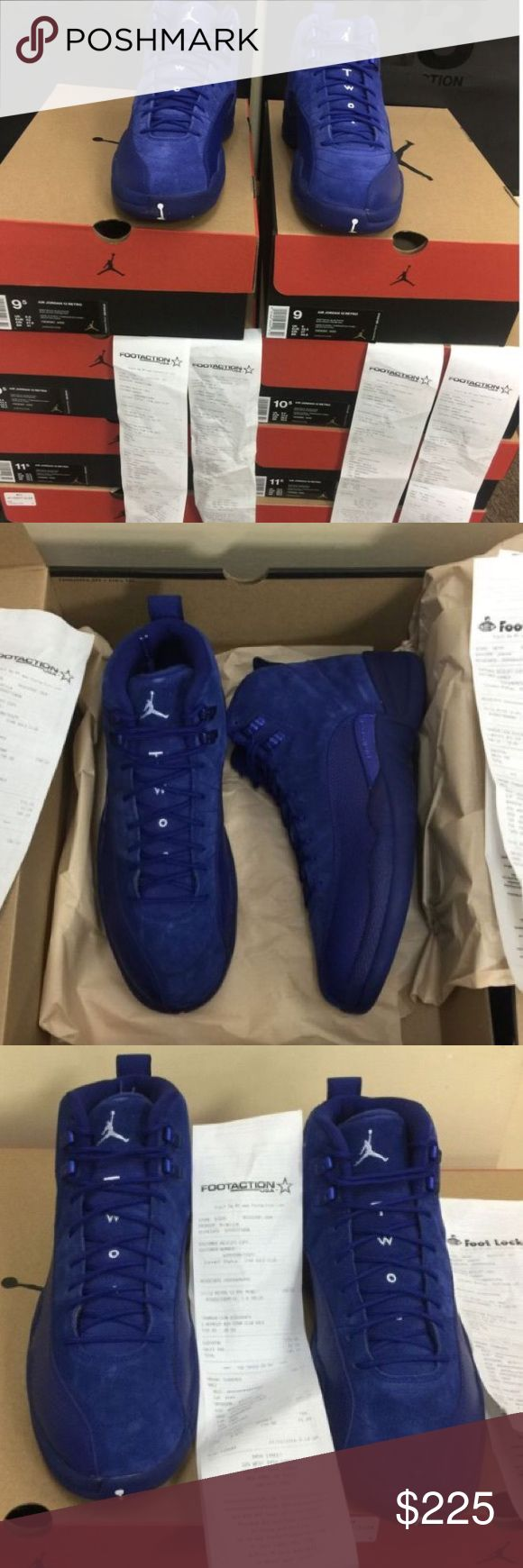 Nike Air Jordan XXI Retro 12 Deep Royal Blue AUTHENTIC!!! If you are interested in purchasing my product, from here on out contact me at (912) 319-7340 Jordan Shoes Sneakers