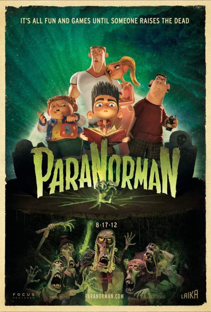 ParaNorman: Norman sees dead people. Heard that one before, right? The good news is that even though the cultural reference that entered our collective consciousness way back with The Sixth Sense is the conceptual spark, it's not a clichéd mark against ParaNorman. Neither is it some psychodramatic plot twist in this charming and ingenious stop-motion animated kids' story about a little boy who shares the world with the ghosts who are living all around him.