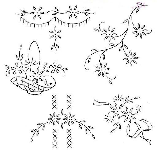 2556 best Embroidery patterns images on Pinterest