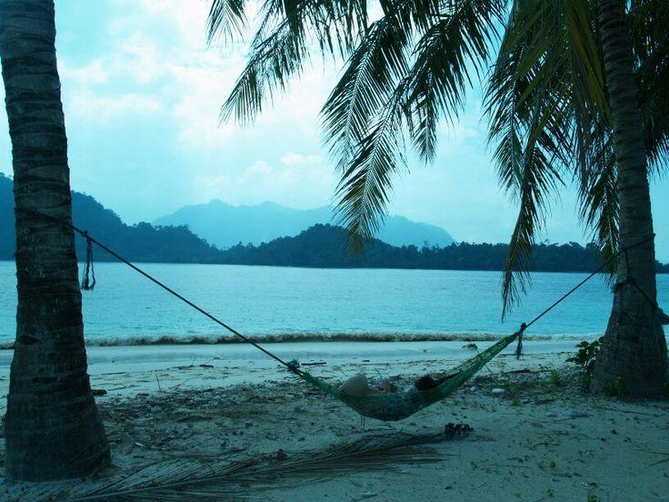 Island life at Pagang