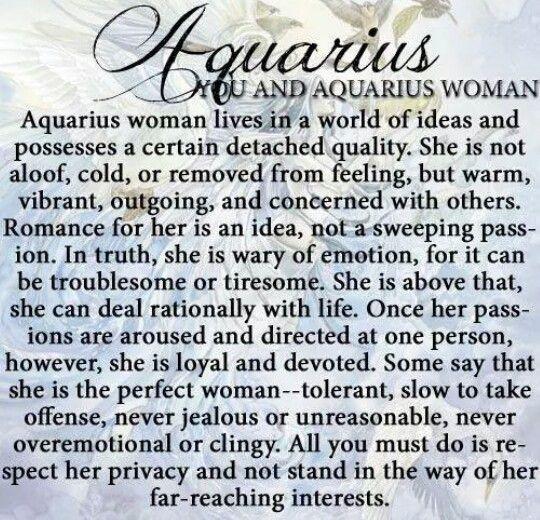You and Aquarius Woman..