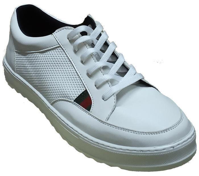 Stop White Leather Shoes Fashion Sneaker For Men ستوب فاشن سنيكرز اوف وايت رجال كوتشى ابيض ماركة ستوب سنيكرز حذاء Deodorant Shoes Buy Online