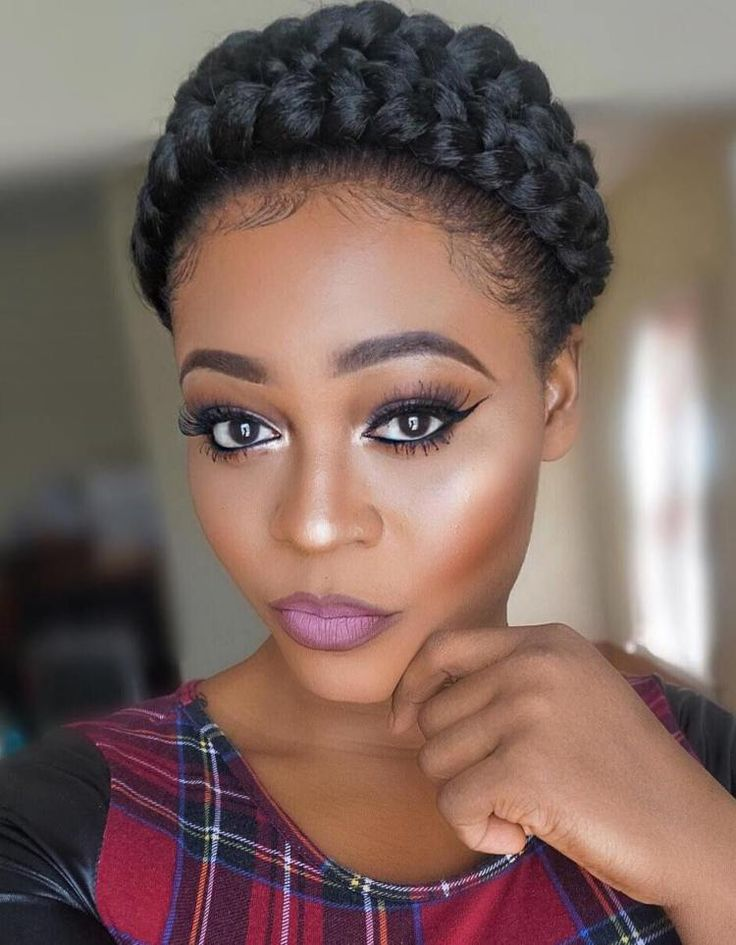 Strange 1000 Ideas About Halo Braid With Weave On Pinterest Braids With Short Hairstyles For Black Women Fulllsitofus