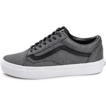 Sneakers Femmes - Vans   Old Skool Metallic Leopard - gris