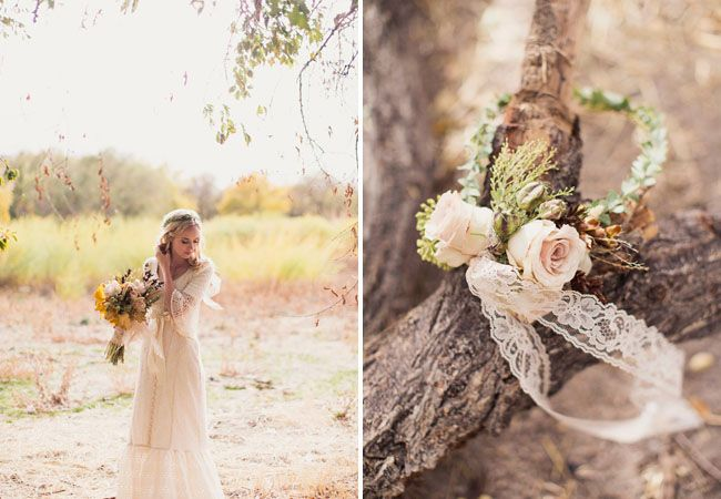 Autumn Wedding Inspiration by Utah Events by Design featured on Green Wedding Shoes. Florals by Erin Keller at Urban Chateau Floral.