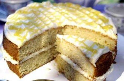 Lemon cream cake | Woman's Weekly recipe recipe - goodtoknow