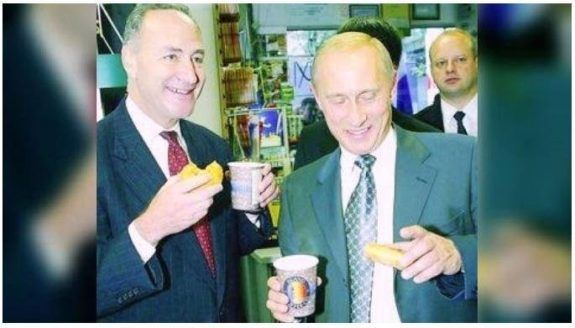 An unfortunate picture has just surfaced of one of their top Democrats with Vladimir Putin, in a mysterious meeting in New York City that they immediately need to provide an explanation for.
