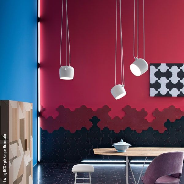 Very cool and funky @Flo Stockley aim pendant #lighting #design #interior design