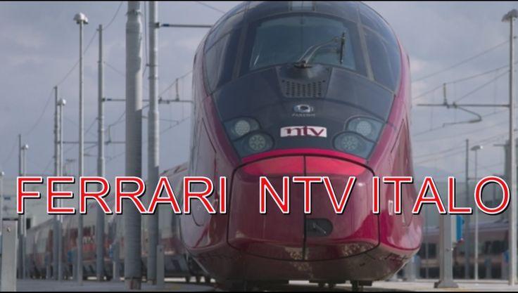FERRARI  NTV ITALO Итальянский скорый поезд !