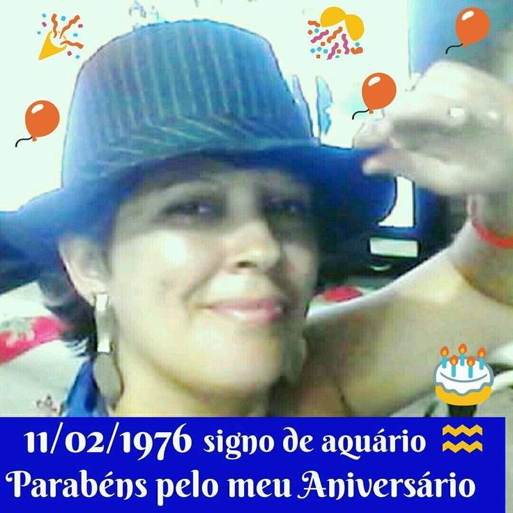 #domingo 🎈🎊🎂🎊👏 #parabéns #meuaniversario #felicidades #saúde #paz #amor #prosperidade #money #aniversário FELIZ DOMINGO! 🎈👏🎉🎂🎊🎈💞💋 Hoje é um dia especial, Eu nasci em 11/02/1976 Sou do signo de aquário, tudo de maravilhas, PARABÉNS PELO MEU...