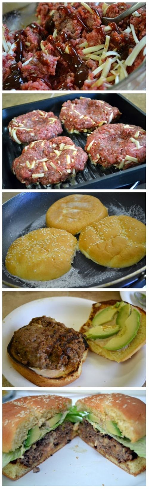 """KEEP -- """"I didn't want to buy any processed burger patties from the store so I made my own using this recipe and it was yummy! I was worried about the reviews of them falling apart, so I only used 2 TBSP of BBQ sauce and they turned out perfect! I cooked each side for about 6 mins on a grill pan. Definitely will be making this again! - MJ"""" -- Quick & Easy Homemade Burger Patties"""