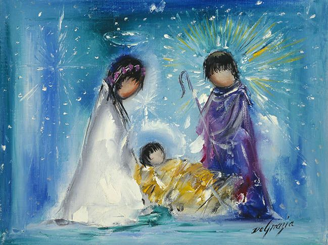 "DeGrazia's ""Nativity"""