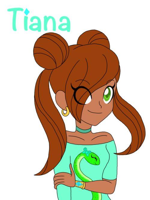 le nouveau-LoliRock-filles: « Voici les adolescentes Tiana, une princesse de Xeris (l'autre est son cousin Azura) et la fille de Talia et Mephisto (accord avec elle) Elle est la plus jeune de la bande, elle est 15 ans a cet âge, elle devient une ...