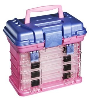 Plano 1354 4 by rack tackle system tackle box and for Pink fishing gear