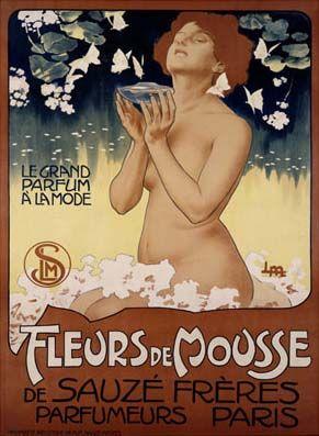 Fleur de Mousse, 1899 Leopoldo Metlicovitz Giclee Print