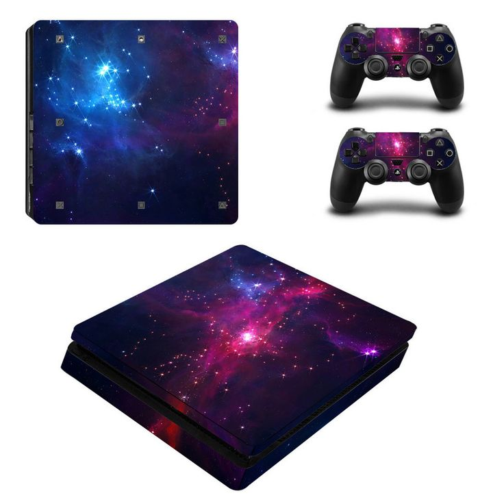 >> Click to Buy << Hot Sale For PS4 Slim Sticker For Sony Playstation 4 Slim Console+2 controller Skin Sticker For PS4 S Skin ZY-0011 #Affiliate