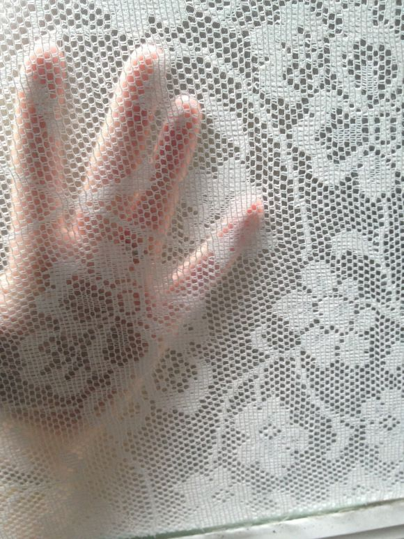 Lace window treatment