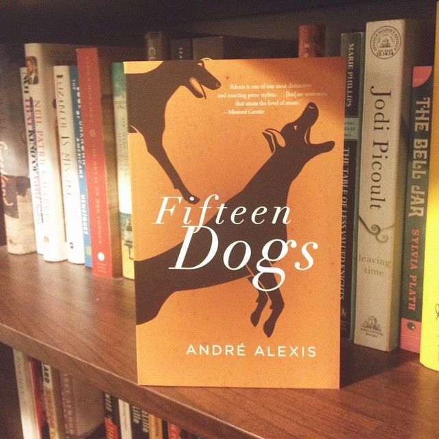 Fifteen Dogs by Andre Alexis (Coach House Books) #CanLit
