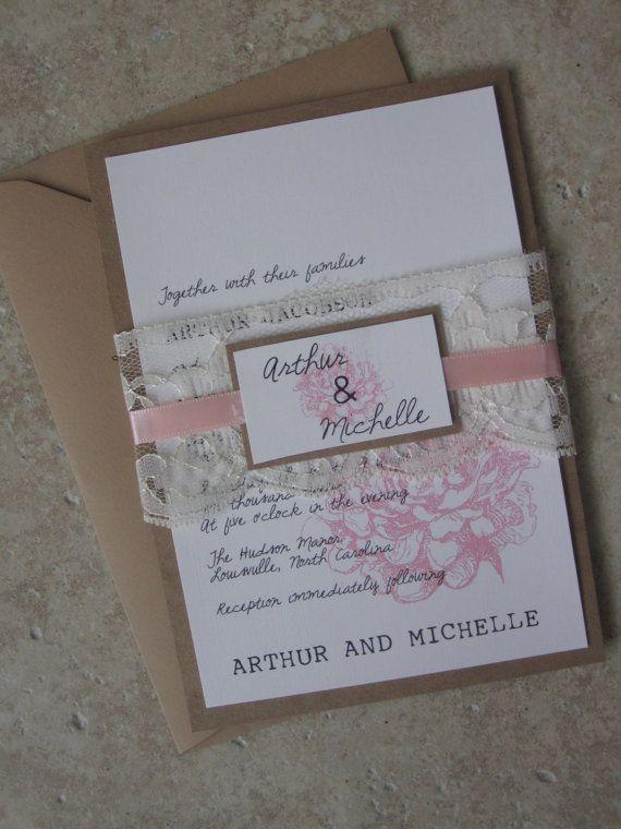 Cute wedding invites