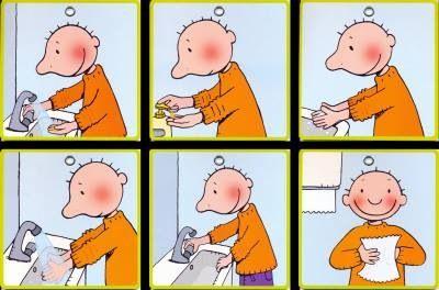 Handen wassen Jules