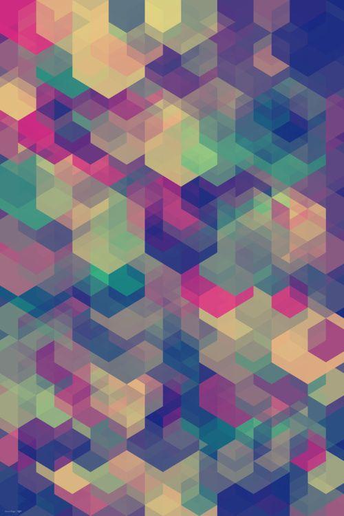 hexagones encastres