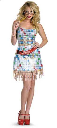 17 best images about halloween on pinterest sexy for Diy scrabble costume