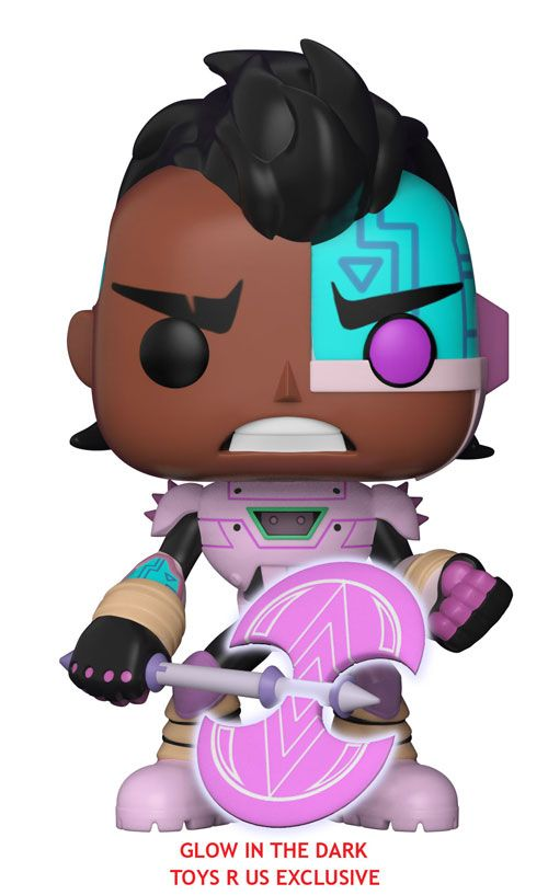 Funko Pop: Teen Titans Go! The Night Begins To Shine: Cyborg (Toys R Us exclusive, glow in the dark)