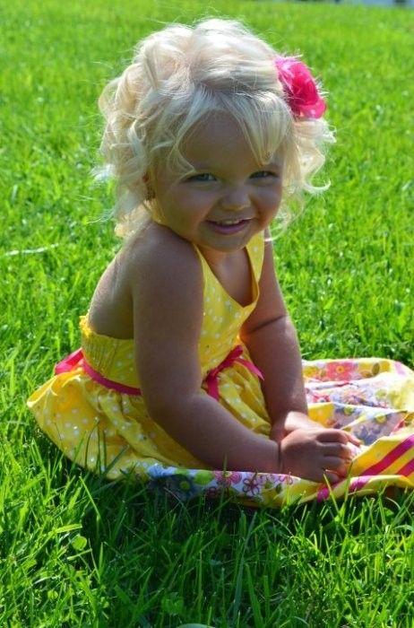 jolies petites filles