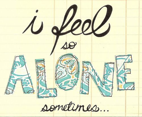 I feel so alone sometimes  View more #quotes @ http://quotes-lover.com/  Tags: #Alone