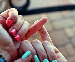 how cute is this? <3 sister tattoos :D @susana herrera lets do it!! lol