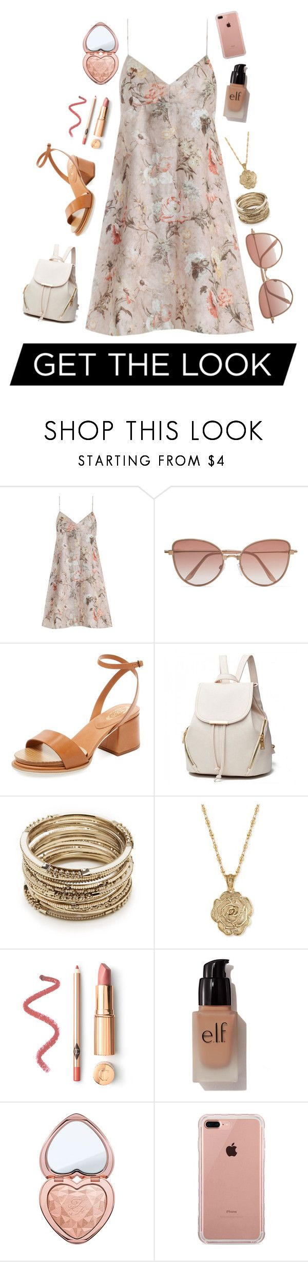 """""""• G e t  t h e  l o o k •"""" by alexandra-3-grace ❤ liked on Polyvore featuring Zimmermann, Cutler and Gross, Tod's, Sole Society, 2028, e.l.f., Too Faced Cosmetics and Belkin"""