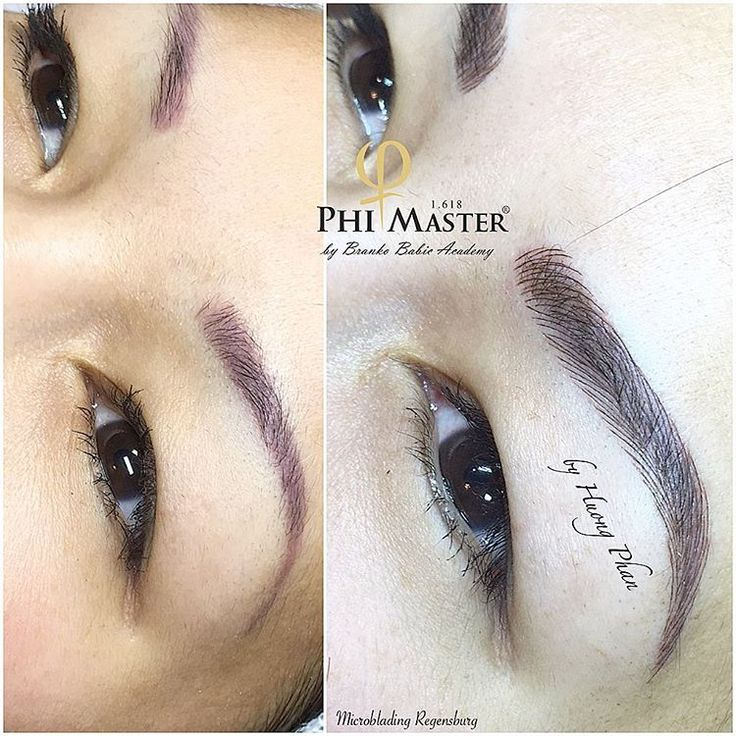 #Microblading #HuongPhan #phibrows #PhiMaster #permanentmakeup…